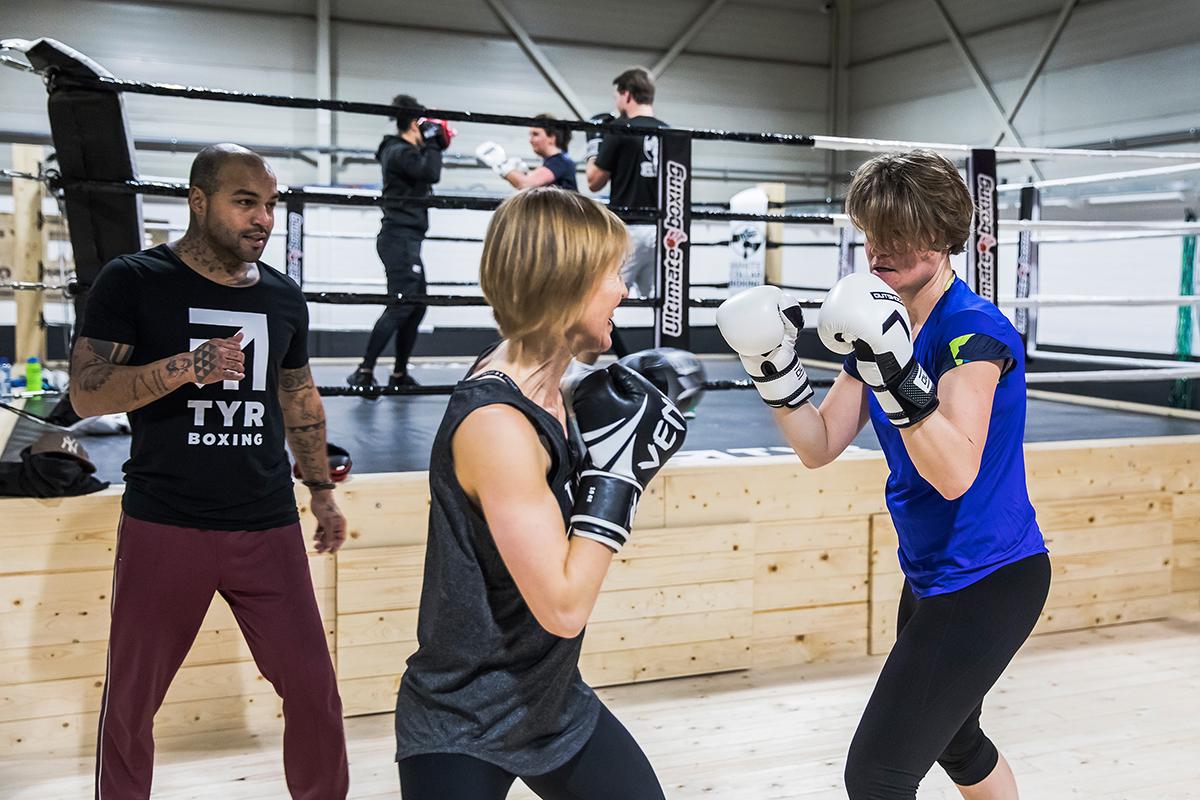 De nieuwe boksschool in Rotterdam Ommoord