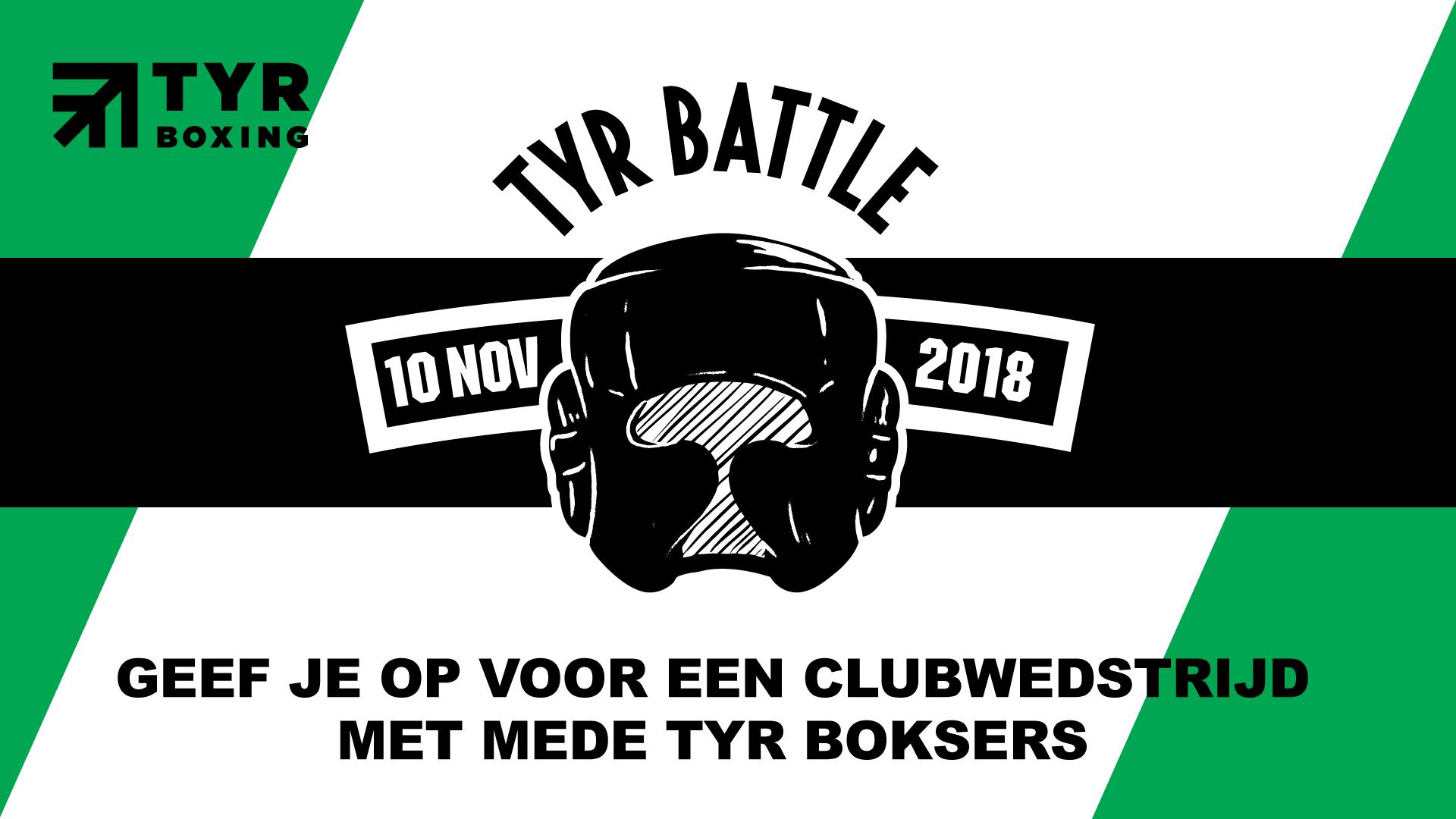 Geef je op voor de TYR Battle - No Knock Out op 11 nov 12.00 uur!!