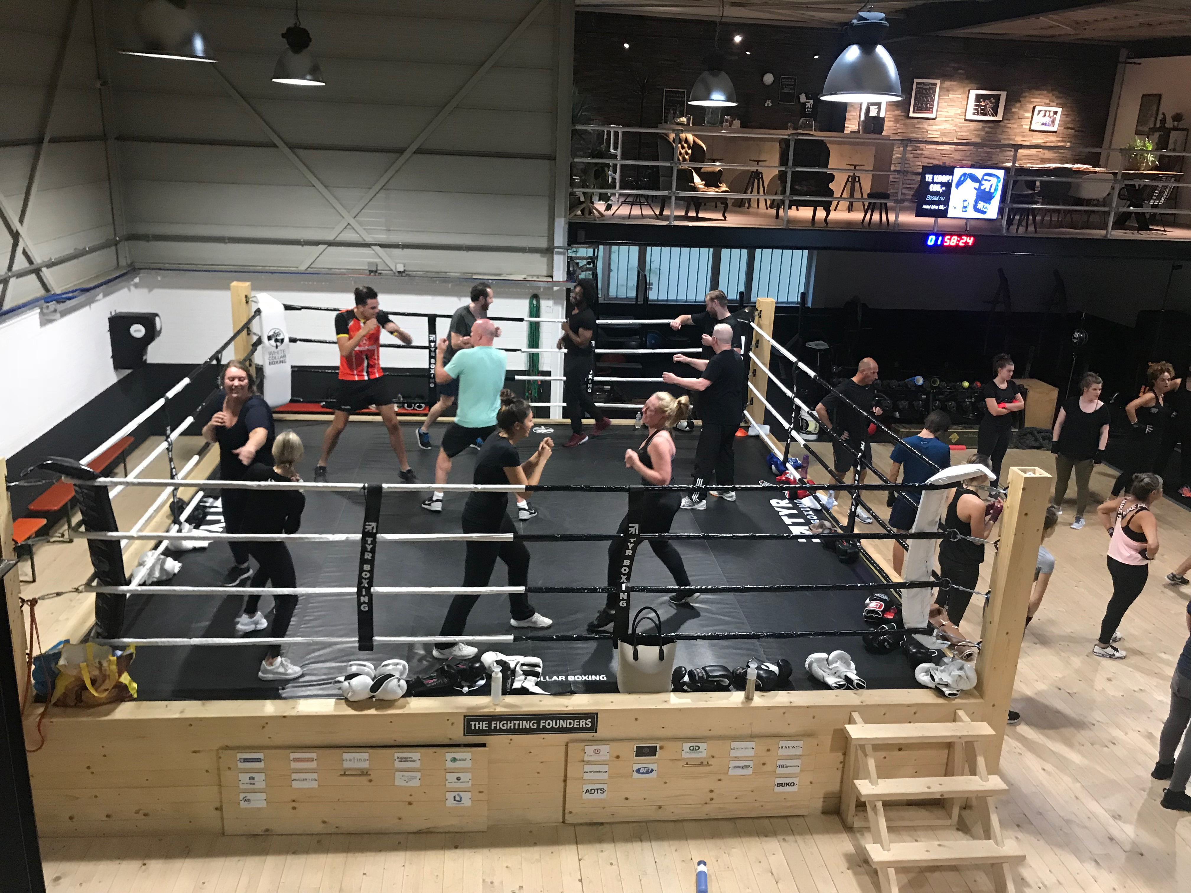 Open dag TYR Boxing, 20 januari