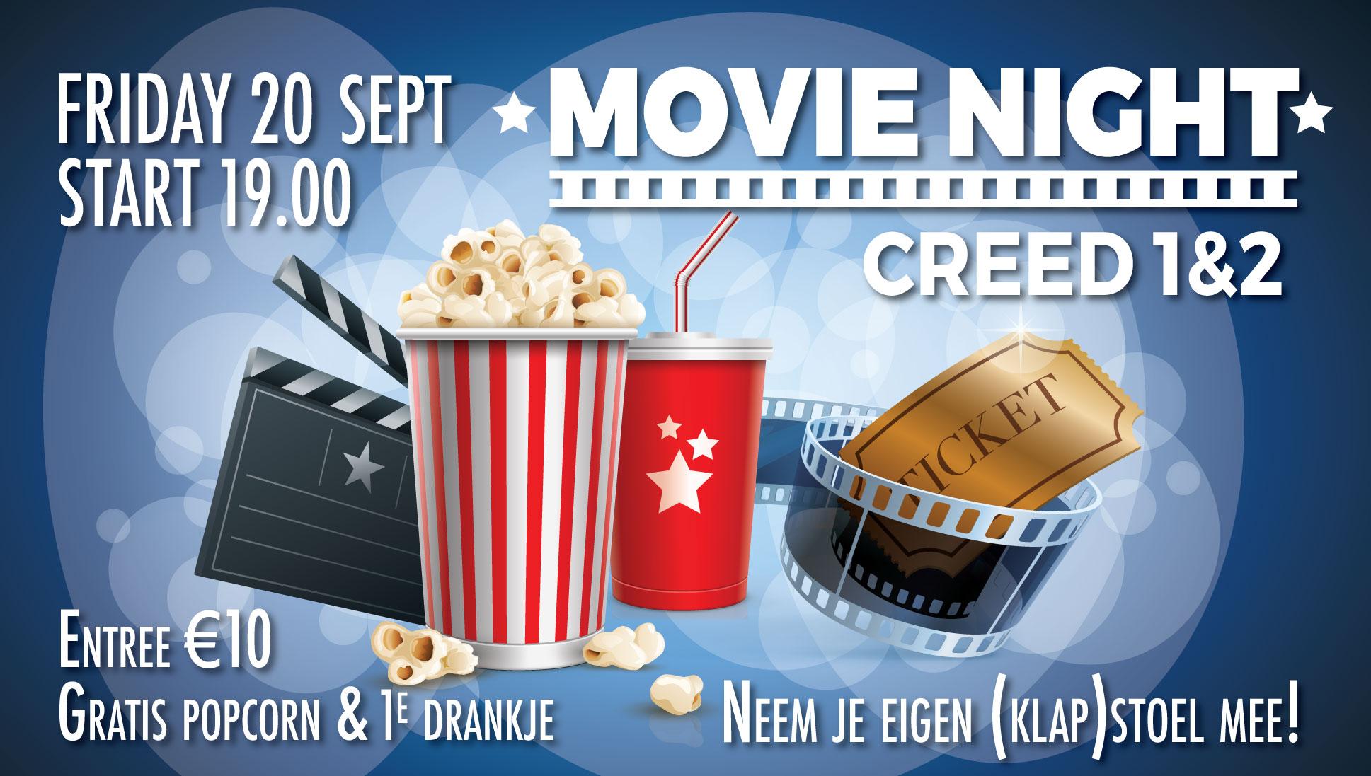 20 sept Movie Fight Night