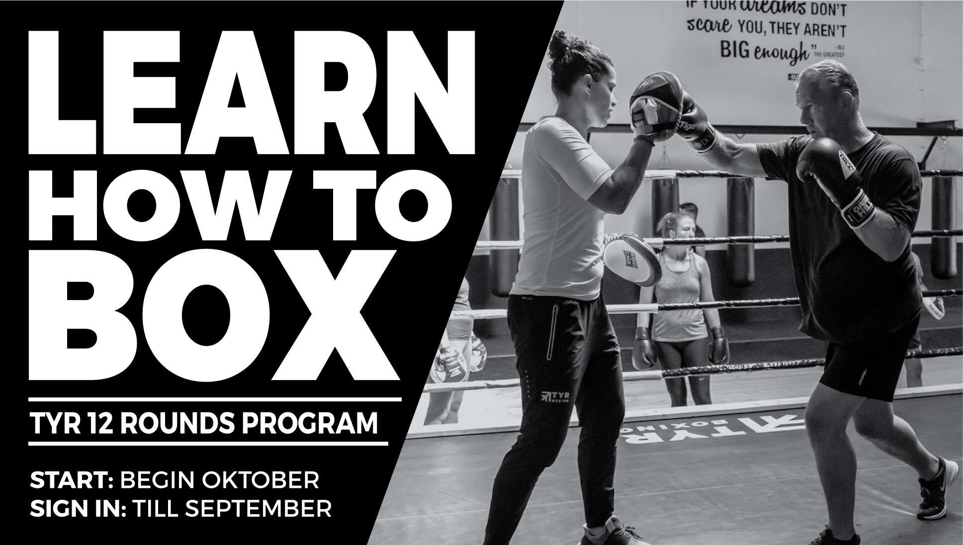 Learn how to box with TYR 12 Rounds Boxing Program