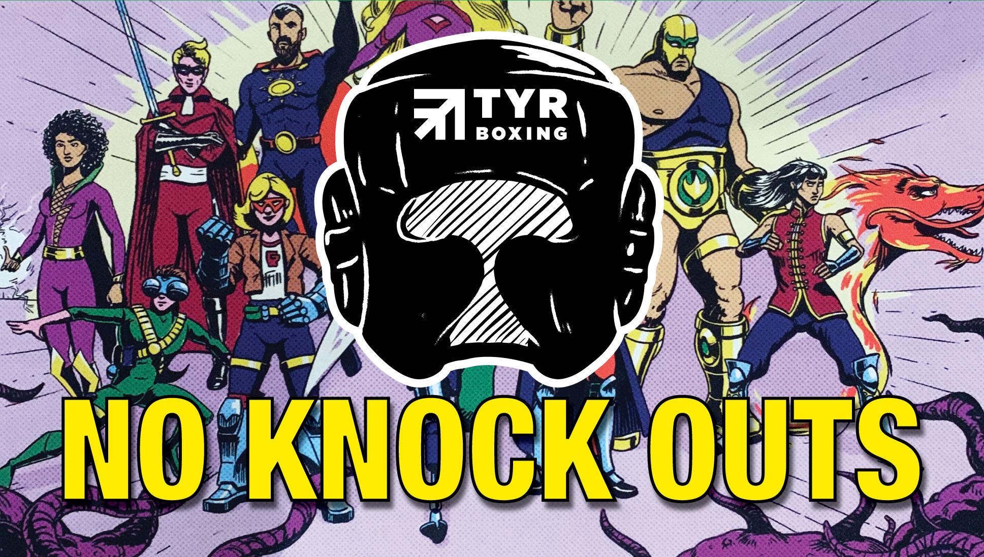 Zo 3 November 11 uur – 15.30 uur  No Knock Outs wedstrijden (Super Heroes)