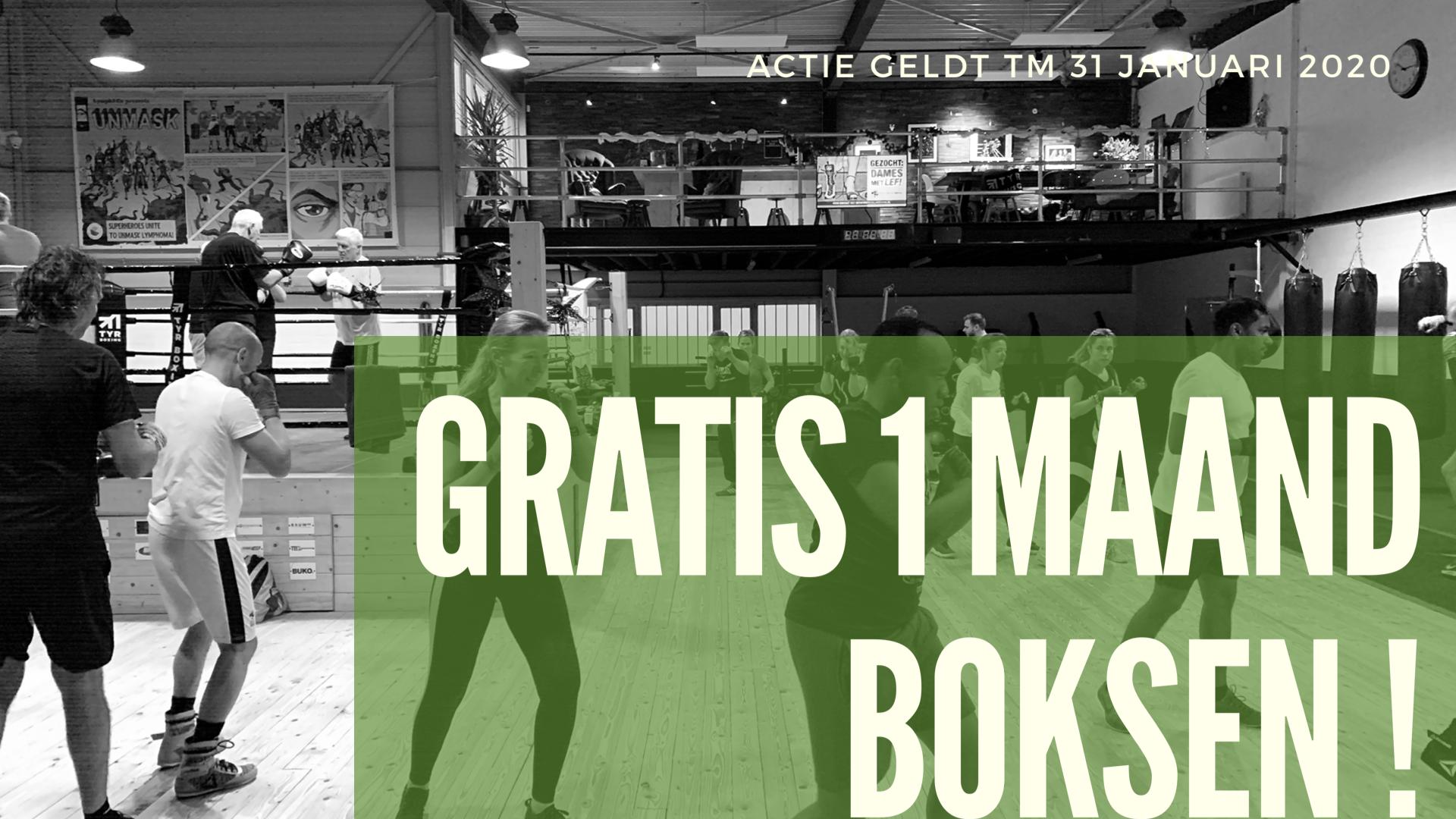 Word lid in januari en ontvang de 4e maand GRATIS boksen!!