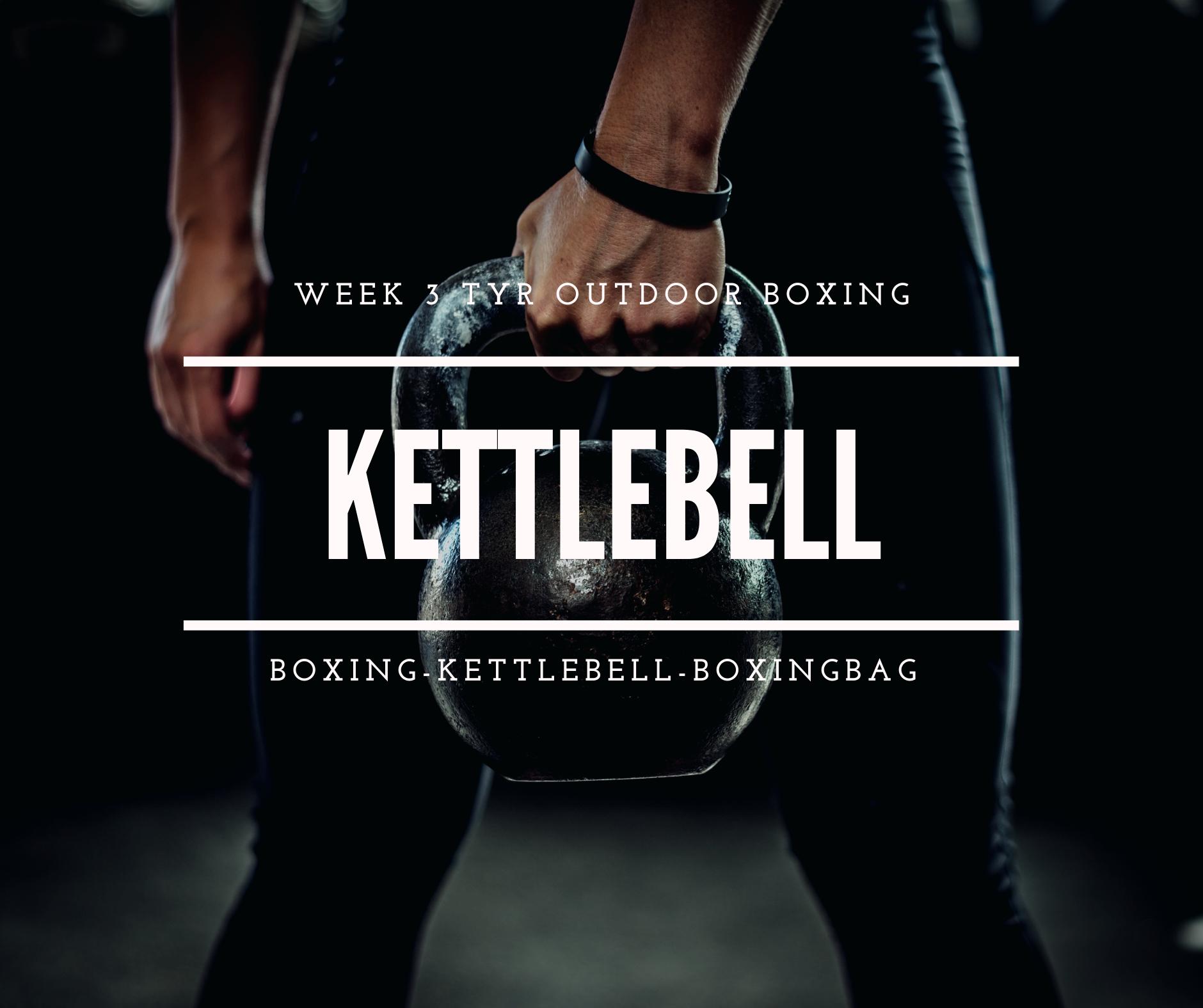 Deze week kettlebells!!