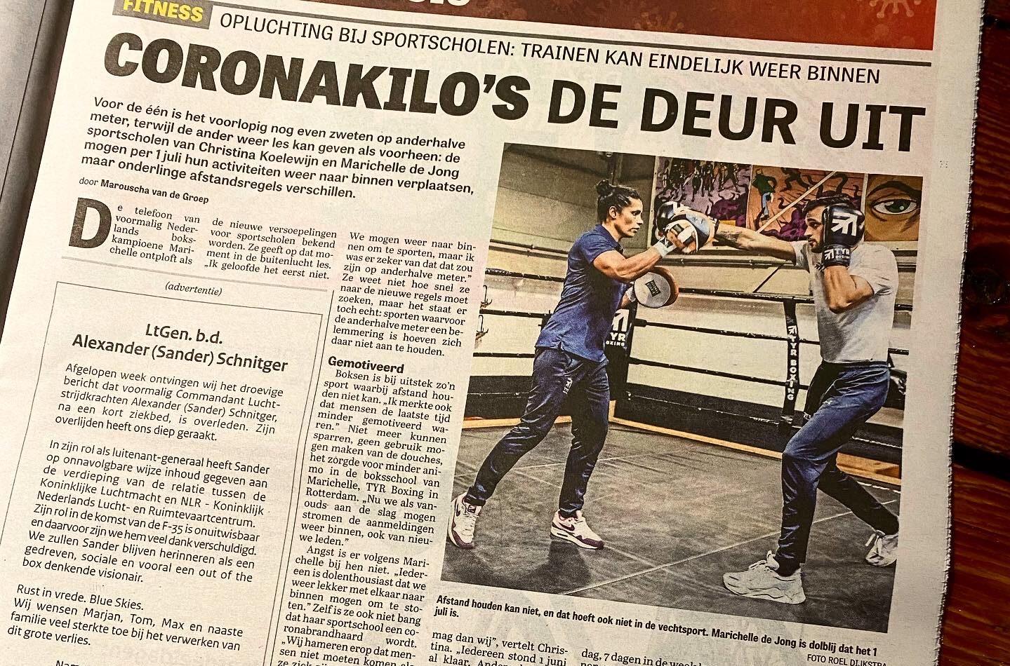 Voorpagina Telegraaf